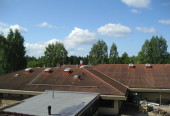 3000m2 pesemätöntä kattoa